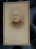CDV Reutlinger à Paris (signature Du Photographe) - Portrait De François Guizot De L'académie Française En 1864 L557E - Ancianas (antes De 1900)