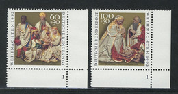 1639-1640 Weihnachten 1992, FN1 Satz ** - Non Classés