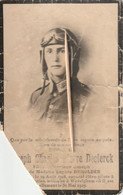 Verongelukt Met Vliegtuig, Vliegtuigongeval ; Soldaat : Joseph Declerck, Demolder, Wevelghem, Wevelgem, 1929 - Devotion Images