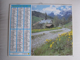 Almanach Des P T T  1986 - Big : 1971-80