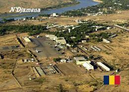 Chad N'Djamena Airport Aerial View New Postcard Tschad Flughafen AK - Tschad