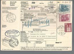 58557) Switzerland Bulletin D'Expedition 1967 Postmark Cancel - Brieven En Documenten
