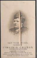 Wulpen, Brussel, 1923, Virgenie Chamon, Depauw - Images Religieuses