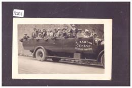 GENEVE - PETITE PHOTO 11x7 - AUTOCAR TARDIN, EXCURSIONS TRANSPORTS - TB - GE Genève