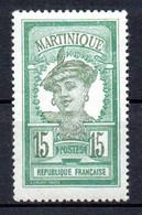 Col22  Martinique N° 95 Neuf XX MNH  Cote 0,90 Euro - Neufs