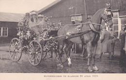 48525Haarlem, Bloemencorso Te Haarlem. 26 April 1919. (zie Rechterkant Bij Gekleurd) - Haarlem