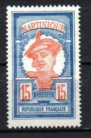 Col22  Martinique N° 120 Neuf X MH  Cote 2,00 Euro - Nuevos