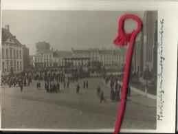 Turnhout, Bezetting België, Vlaanderen, Oorlog 1914-1918 Marktplaats Met Kiosk + Orkest - Foto 12 X 9 Cm - War 1914-18
