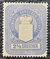 SCHWARZBURG SONDERSHAUSEN - MNH - Fiscal 2.5g - Ohne Zuordnung
