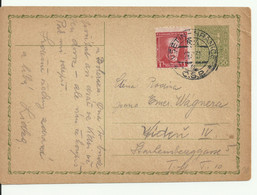 Czechoslovakia. Card From Vsetin To Wien 1931 - Covers & Documents