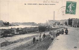 94-VITRY-PORT- QUAI DU PORT A LANGLAIS - Vitry Sur Seine