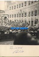 166928 ITALY SIENA COSTUMES FEAST OF THE PALIO 7.5 X 10.5 CM PHOTO NO POSTAL POSTCARD - Non Classés