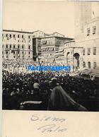 166930 ITALY SIENA COSTUMES FEAST OF THE PALIO 7.5 X 10.5 CM PHOTO NO POSTAL POSTCARD - Non Classés