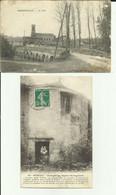 55 - Meuse - Lot De 2 Cartes - Stenay - Eglise St.Dagobert - Haironville - Le Pont - - Stenay