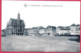 C.P. Oudenaarde =  Grand'Place  Et  Hôtel  De  Ville - Oudenaarde