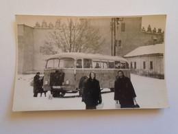 D182806  Slovakia  Késmárk  Kezmarok  - Photo  1953 - Autobus  Bus - Busse & Reisebusse