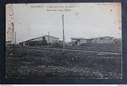 ALLEREY Camp Américain La Gare American Camp Depot Train Baraquement Centre Hospitalier Militaria Guerre 14/18 WWI WW1 - Autres Communes