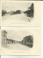 55 - Meuse - Lot De 2  Cartes - Revigny   - Clichés  Avant 1903 - - Revigny Sur Ornain