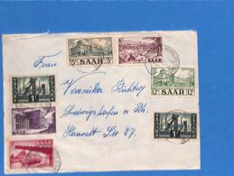 Saar 1953 Lettre De Limbach (G3001) - Lettres & Documents