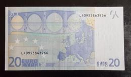 20 Euro Draghi R025 L40 Germany / Finland - 20 Euro