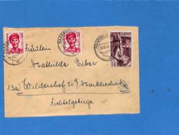 Saar 1948 Lettre De Saarbrücken (G3014) - Lettres & Documents