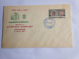 Iran Fdc. 2nd Iranian Veterinary Congres 1967 - Iran