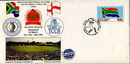South Africa Südafrika Special Occasion Letter - Cricket - English Tour - FDC