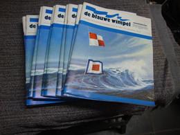 De Blauwe Wimpel. Maandblad Voor Scheepvaart En Scheepsbouw In De Lage Landen. Visserij (Bak - Gar) - Prácticos