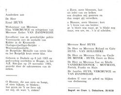 René Huys (1905-1985) ~ Oudstrijder (1940-1945) - Images Religieuses