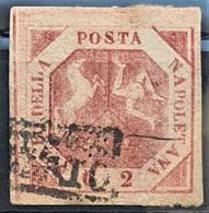 SICILIA 1858 - Canceled - Sc# 3 - 2gr - Sicilië