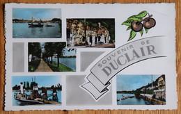 76 : Souvenir De Duclair - Seine - Bac - Club Nautique ... CPSM Format CPA Colorisée - (n°21085) - Duclair