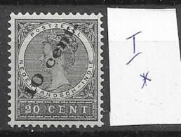 1905 MH Nederlands Indië, NVPH  62 Type 1 - Indie Olandesi