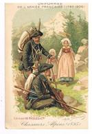 08- 2021 - ETA 25 - HAUTES ALPES - 05 - Chasseurs Alpins 1895 - Gravure De Ariste Boulineau - Zonder Classificatie