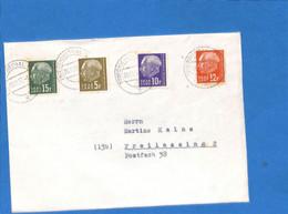 Saar 1957 Lettre De Friedrichsthal (G3042) - Lettres & Documents