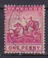 COLONIE INGLESI  BARBADOS 1904 SERIE ORDINARIA  YVERT. 71 USATO VF - Barbades (...-1966)
