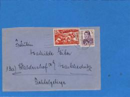 Saar 1949 Lettre De Saarbrücken (G3054) - Lettres & Documents