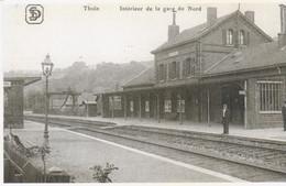Thuin Intérieur De La Gare Du Nord - Gares - Sans Trains