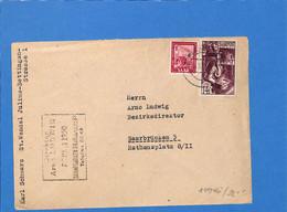 Saar 1950 Lettre De St.Wendel (G3060) - Lettres & Documents