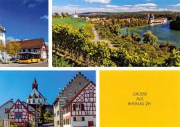 Rheinau  Postauto Q   3 Bild  Limitierte Auflage! - ZH Zurich