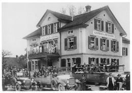 Buchs  Autocamions Gasthaus Ochsen Reprokarte Um 1930 - SG St. Gall
