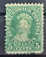 NEW BRUNSWICK 1860/63 - Canceled - Sc# 8 - 5c - Gebruikt