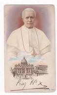 Rare ! Image Pieuse Italienne Ancienne, Pape X, éditée Au Moment De Son élection, En 1903 - Images Religieuses