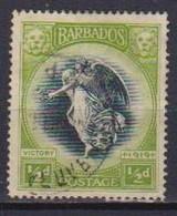 COLONIE INGLESI  BARBADOS 1920 ANNIVERSARIO DELLA VITTORIA YVERT. 118 USATO VF - Barbades (...-1966)