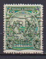 COLONIE INGLESI  BARBADOS 1925-32 SERIE ORDINARIA  YVERT. 142 USATO VF - Barbades (...-1966)