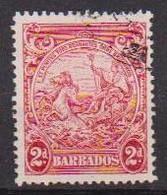 COLONIE INGLESI  BARBADOS 1938-41 SERIE ORDINARIA  YVERT. 169A  USATO VF - Barbades (...-1966)