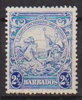 COLONIE INGLESI  BARBADOS 1938-41 SERIE ORDINARIA  YVERT. 170 USATO VF - Barbades (...-1966)