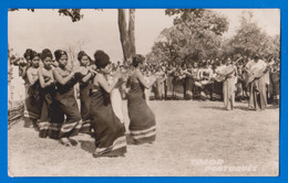 East Timor Oriental - Dança Da Cobra - Native Women  - Real Photo Postcard - East Timor