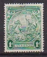 COLONIE INGLESI  BARBADOS 1943-47 SERIE ORDINARIA YVERT. 182A  USATO VF - Barbados (...-1966)