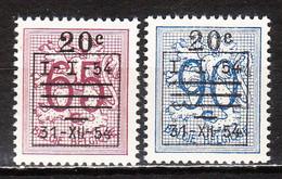 941/42** Lion Héraldique Préoblitéré - Série Complète - MNH** - LOOK!!!! - Unused Stamps