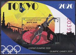 KOSOVO 2021,OLYMPIC GAMES 2020,SPORT,BLOCK,MNH - Summer 2020: Tokyo
